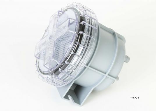 Diese Seewasserfilter sind ideal zur Reinigung des Seewassers bei Ein-Kreis- und Zwei-Kreis-Kühlsystemen geeignet. Erhältlich in verschiedenen Ausführungen. ACHTUNG: Es handelt sich NICHT um Originalteile der Motorenhersteller!  (Bild 4 von 7)