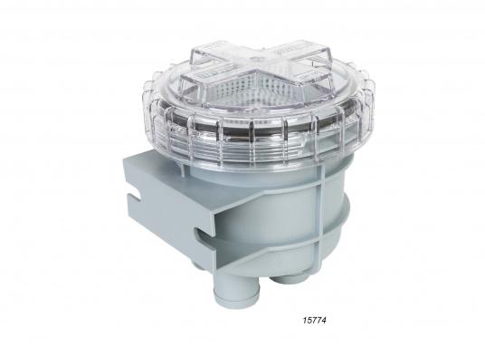 Diese Seewasserfilter sind ideal zur Reinigung des Seewassers bei Ein-Kreis- und Zwei-Kreis-Kühlsystemen geeignet. Erhältlich in verschiedenen Ausführungen. ACHTUNG: Es handelt sich NICHT um Originalteile der Motorenhersteller!  (Bild 6 von 7)