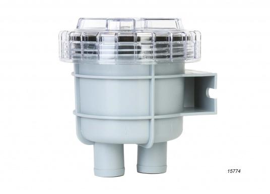 Diese Seewasserfilter sind ideal zur Reinigung des Seewassers bei Ein-Kreis- und Zwei-Kreis-Kühlsystemen geeignet. Erhältlich in verschiedenen Ausführungen. ACHTUNG: Es handelt sich NICHT um Originalteile der Motorenhersteller!
