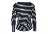 ANTIBES Breton Women's Shirt / navy/white