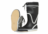 Image of Rubber Boots BLACK, high-cut