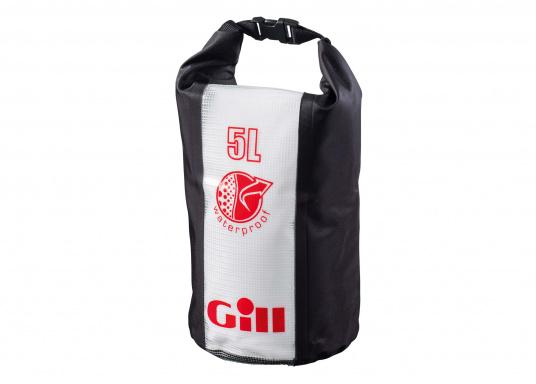 Der 5 L Packsack von Gill hält Ihre Ausrüstung trocken - egal ob auf dem Segelboot, auf dem Kanu oder der Yacht. Diese Tasche hat die perfekte Größe für Ihre Geldbörse, Autoschlüssel und Handy.