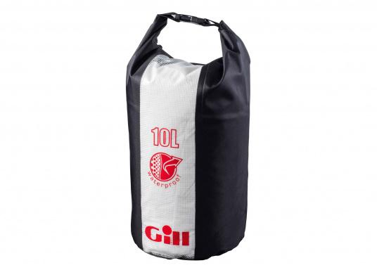 Der 10 L Packsack von Gill hält Ihre Ausrüstung trocken - egal ob auf dem Segelboot, auf dem Kanu oder der Yacht.