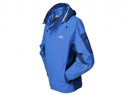 Die Gill Crew Lite Jacke bietet Effizienz und Schutz durch den Einsatz eines haltbaren, wasserdichten und atmungsaktiven 2 Dot™ Gewebes und eines kühlenden Maschenfutters, die sie perfekt machen zum Segeln, Reisen, oder nur so für draußen.  (Bild 3 von 8)