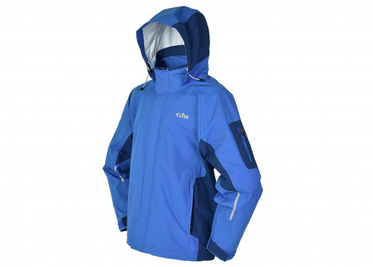 Die Gill Crew Lite Jacke bietet Effizienz und Schutz durch den Einsatz eines haltbaren, wasserdichten und atmungsaktiven 2 Dot™ Gewebes und eines kühlenden Maschenfutters, die sie perfekt machen zum Segeln, Reisen, oder nur so für draußen.  (Bild 2 von 8)