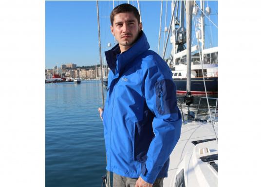 Die Gill Crew Lite Jacke bietet Effizienz und Schutz durch den Einsatz eines haltbaren, wasserdichten und atmungsaktiven 2 Dot™ Gewebes und eines kühlenden Maschenfutters, die sie perfekt machen zum Segeln, Reisen, oder nur so für draußen.  (Bild 5 von 8)