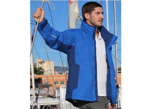 Die Gill Crew Lite Jacke bietet Effizienz und Schutz durch den Einsatz eines haltbaren, wasserdichten und atmungsaktiven 2 Dot™ Gewebes und eines kühlenden Maschenfutters, die sie perfekt machen zum Segeln, Reisen, oder nur so für draußen.  (Bild 6 von 8)