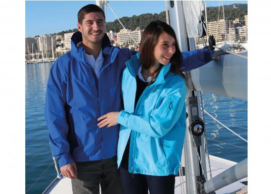 Die Gill Crew Lite Jacke bietet Effizienz und Schutz durch den Einsatz eines haltbaren, wasserdichten und atmungsaktiven 2 Dot™ Gewebes und eines kühlenden Maschenfutters, die sie perfekt machen zum Segeln, Reisen, oder nur so für draußen.  (Bild 8 von 8)