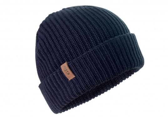 Diese gestrickte Gill Mütze ist besonders für kalte Wintertage an Bord und Land geeignet. Das traditionelle Strickmuster wärmt sogar wenn die Mütze nass ist.