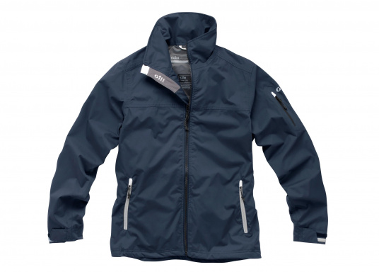 Die Damen Crew Lite Jacke bietet effizienten Schutz vor Wind und Wetter durch den Einsatz eines haltbaren, wasserdichten und atmungsaktiven 1 Dot™ Gewebes und eines kühlenden Maschenfutters.