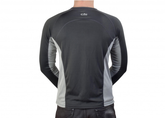 The i2 base layer, produced using bamboo-derived activated carbon, can be worn as a cooling technical layer or as bottom layer while wearing multiple layers of clothing.