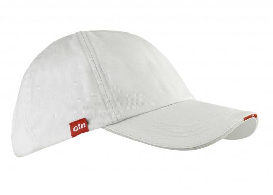 Komfortables Segel Cap aus gebürsteter Baumwolle.