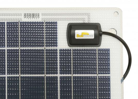 Das Solarmodul SW-20164 ist für kleine Solarsysteme konzipiert. Das 38Wp Modul ist für 12V System ausgelegt, kann aber bei Serienschaltung auch für 24V Systeme verwendet werden.  (Bild 2 von 3)