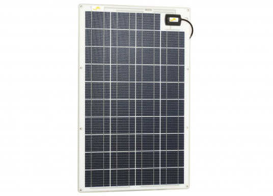 The SW-20185 solar module is designed for small solar systems. The 100 Wp module is mainly designed for 12V systems, but may also be used in a series conjunction with 24V systems as well.