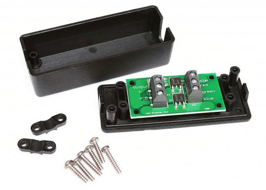 Der Zell- bzw. Hotspot-Protektor hat die Aufgabe, die Zellen im Modul bei teilweiser Abschattung des Solarmoduls vor Überhitzung (Hotspot) zu schützen. Hierzu sind auf der Platine 2 Bypassdioden aufgelötet. Eine dritte Diode arbeitet als Rückstromschutz.