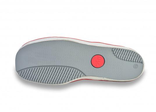 Verbundstiefel aus 100% Naturkautschuk mit hohem Unterstützungsgrad und Komfort. Nicht rutschende Messerschnitt-Sohle macht ihn ideal für die Benutzung an Deck.  (Bild 7 von 8)