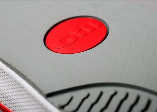 Verbundstiefel aus 100% Naturkautschuk mit hohem Unterstützungsgrad und Komfort. Nicht rutschende Messerschnitt-Sohle macht ihn ideal für die Benutzung an Deck.  (Bild 8 von 8)