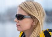 Sonnenbrille CLASSIC / matt-grau