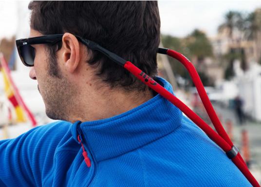 Brillenband für zusätzliche Sorgenfreiheit und für einen sicheren Sitz auch bei rauen Seebedingungen! (Bild 2 von 4)