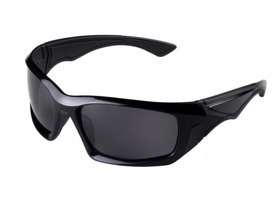 Leistungssonnenbrille mit Polarisierungslinsen-Technologie.