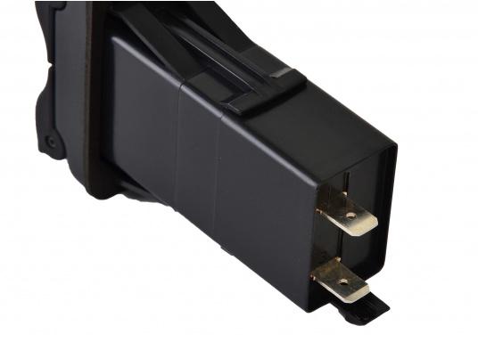 Der neue V-Serie Dual USB Adapter mit 3,15 A Ladestrom lädt Ihre elektronischen Geräte wie zum Beispiel Tablets, E-Reader, Spielekonsolen, Digitalkameras etc. schnell und problemlos auf. (Bild 4 von 6)