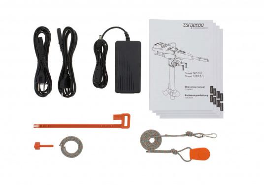 Der TRAVEL 1003 L ist ein Elektro-Außenbordermit über 1000 Watt Eingangsleistung. In der Vortriebsleistung ist er mit einem 3 PS Benzin-Außenboder vergleichbar.  (Bild 6 von 12)