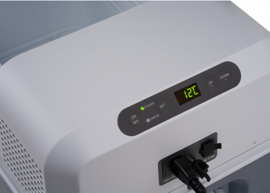 The compressor fridge and freezer combination that does more than expected! Variable temperature setting from +10°C to -10°C, quickly reaching the desired temperature, user-friendly control panel, digital temperature display.