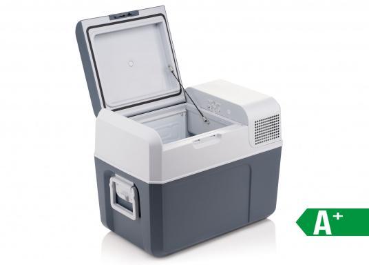 Die Kompressor-Kühl- und Gefrierbox, die mehr leistet als erwartet! Variable Temperatureinstellung von +10°C bis -10°C, schnelles Erreichen der Solltemperatur, anwenderfreundliches Bedienpanel, digitale Temperaturanzeige.