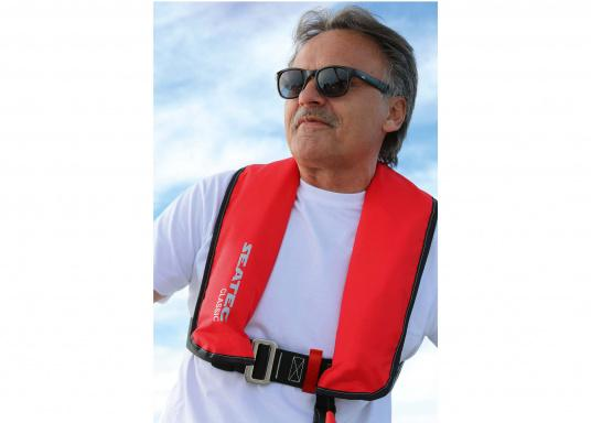 The fully automatic life jacket CLASSIC 165 by SEATEC - value for money, without compromise!  (Afbeelding 6 of 10)