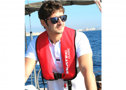 The fully automatic life jacket CLASSIC 165 by SEATEC - value for money, without compromise!  (Afbeelding 7 of 10)