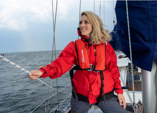 The fully automatic life jacket CLASSIC 165 by SEATEC - value for money, without compromise!  (Afbeelding 10 of 10)