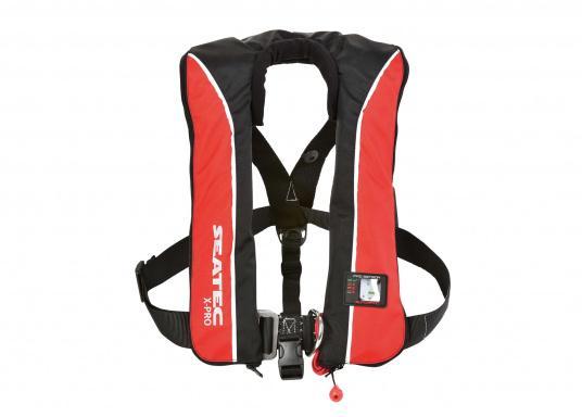 Die komfortabel geschnittene Rettungsweste X-PRO 300von SEATEC bietet Ihnen für wenig Geld selbst bei schwerer Ölkleidung hohen Tragekomfort und höchste Sicherheit.