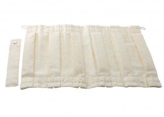 Originaler Vorhang BELLA für Ihre Yacht von BAVARIA. Erhältlich in unterschiedlichen Ausführungen:    46 x 29 cm  62 x 29 cm  75 x 25cm  75 x 29cm  75 x 36 cm