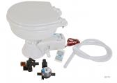 QUIET FLUSH Compact Marine Toilet / Magnetic Valve