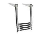 Telescopic bathing ladder, 4-step