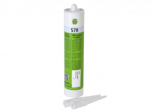 Hochwertige einkomponenten Klebe- und Dichtmasse auf MS-Polymer Basis. Zu empfehlenfür das Saildrive-Gummi IhrerBAVARIA Yacht. Inhalt:290 ml. Farbe:weiß.