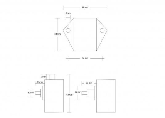 Originales Druckschloss Midi für Ihre Yacht von BAVARIA.  (Bild 4 von 4)