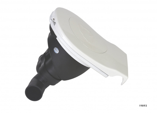 """Diese BAVARIAHand-Bilgepumpe """"Smartbail"""" von Whalekann einfach und schnell montiert werden und passt dank ihrer kompakten Größe und des geringen Gewichts auch in kleine Boote bzw. benötigt wenig Platz. Schlauchanschluss: 1 1/2"""" (38 mm).  (Bild 3 von 3)"""