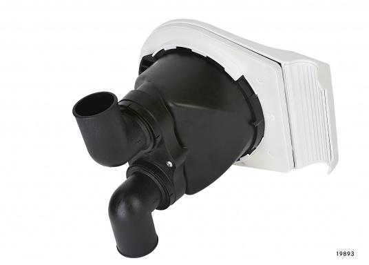 """Diese BAVARIAHand-Bilgepumpe """"Smartbail"""" von Whalekann einfach und schnell montiert werden und passt dank ihrer kompakten Größe und des geringen Gewichts auch in kleine Boote bzw. benötigt wenig Platz. Schlauchanschluss: 1 1/2"""" (38 mm).  (Bild 2 von 3)"""
