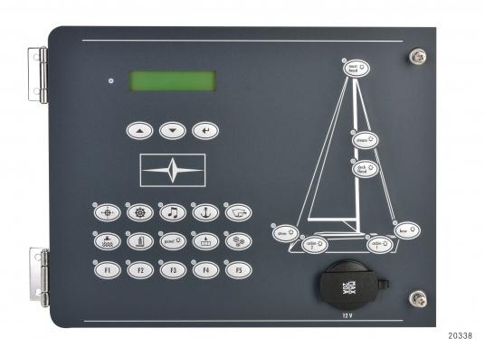 Originales Hauptpanel 301 für IhreSegelyacht von BAVARIA. Spannung: 12 V. Die Abmessungen betragen 273 x 210 x 4 mm.