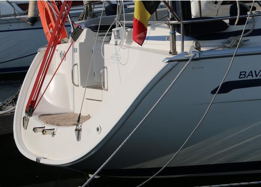 Originale PVC-Scheuerleiste für Ihre Yacht von BAVARIA. Erhältlich in unterschiedlichen Längen. Abmessungen: 60 x 40 mm. Farbe: weiß.  (Bild 2 von 3)