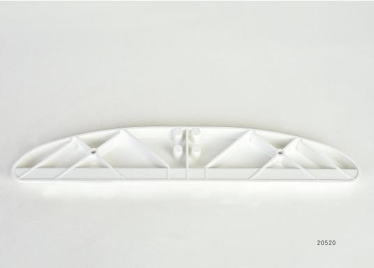 OriginaleSteuermannsitzauflage für Ihre Yacht von BAVARIA. Der Steuermannsitz wird auf diesen Auflagen eingehängt bzw. aufgelegt. Farbe: weiß.  (Bild 2 von 2)
