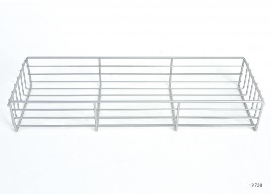 Originaler Drahtkorbeinsatz für die Kühlbox Ihrer Yacht von BAVARIA. Abmessungen: 480x 160 x 75 mm.  (Bild 2 von 2)