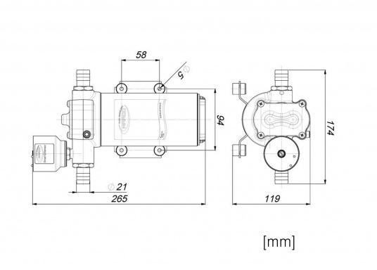 Haute pression et fonctionnement silencieux ! Cette pompe électrique démarre doucement avec vitesse contrôlée. Pas besoin de vase d'expansion. Plusieurs modèles disponibles.  (Image 2 de 4)
