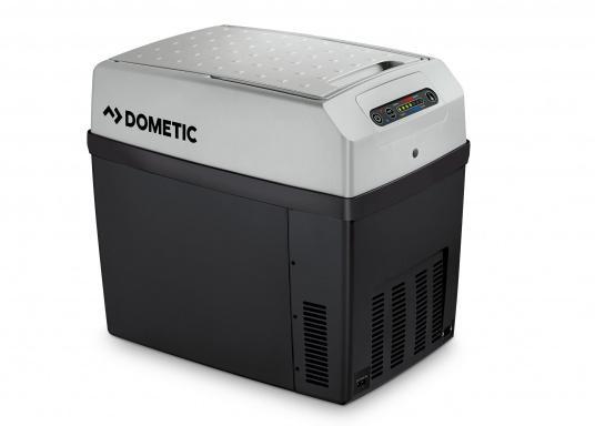 Glacière DC/AC de la gamme TropiCool équipée d'une électronique spéciale avec afficheur digital fabriquée par TC.   (Image 2 de 2)