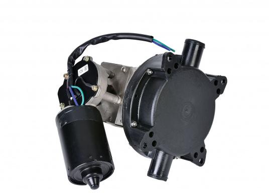 """Elektrische, selbstansaugende Duschwasserpumpe. Membranpumpe mit 1"""" (25 mm) Schlauchanschlüssen, die groß genug sind, um nicht von kleinen Feststoffteilchen zu verstopfen.  (Bild 3 von 4)"""