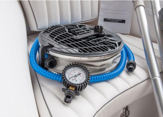 Performance, Sicherheit & Komfort: Das SEATEC GT SPORT 410 ist unser Produkt für alle wahren Wassersportfans. Sei es zum Angeln, Wasserski, zum Touren oder Tauchen - das GT SPORT 410 bietet beste Bedingungen!  (Bild 18 von 19)