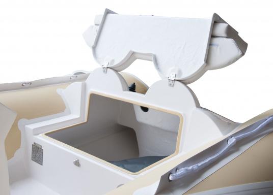 Performance, Sicherheit & Komfort: Das SEATEC GT SPORT 410 ist unser Produkt für alle wahren Wassersportfans. Sei es zum Angeln, Wasserski, zum Touren oder Tauchen - das GT SPORT 410 bietet beste Bedingungen!  (Bild 13 von 19)