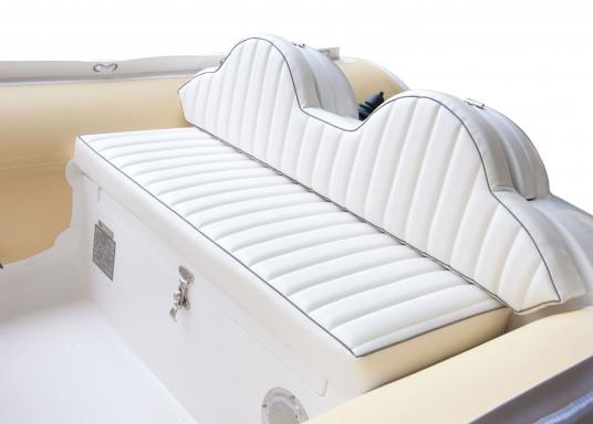 Performance, Sicherheit & Komfort: Das SEATEC GT SPORT 410 ist unser Produkt für alle wahren Wassersportfans. Sei es zum Angeln, Wasserski, zum Touren oder Tauchen - das GT SPORT 410 bietet beste Bedingungen!  (Bild 5 von 19)