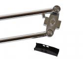 Parallel wiper arm W50 / 1020-1200 mm / stainless steel